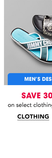 MEN'S DESIGNER | SAVE 30-40% on select clothing and shoes. | CLOTHING
