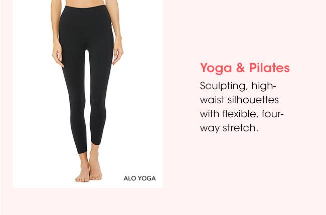Yoga & Pilates | Sculpting, high-waist silhouettes with flexible, four-way stretch. | ALO YOGA