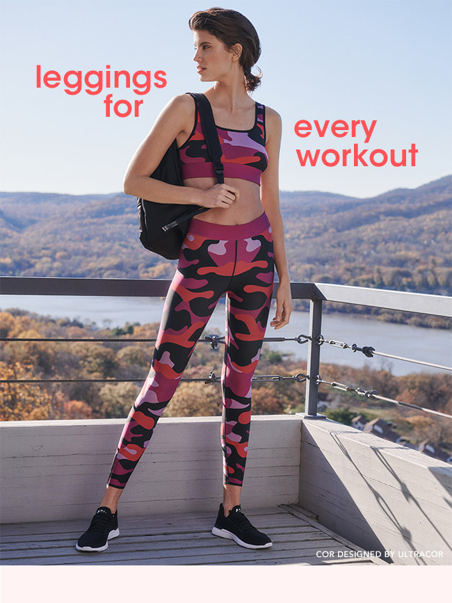 leggings for every workout | COR DESIGNED BY ULTRACOR